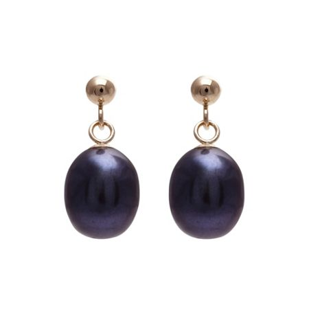 Kyoto Pearl 9k Gold Plated Single Drop Earrings