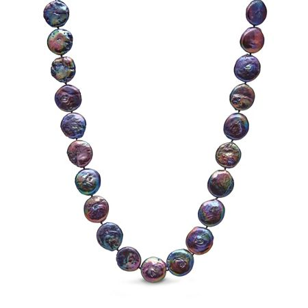Kyoto Pearl Coin pearl necklace