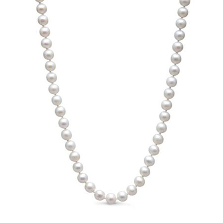 Kyoto Pearl Five row freshwater rice pearl necklace