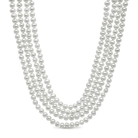 Kyoto Pearl 100 inch necklace