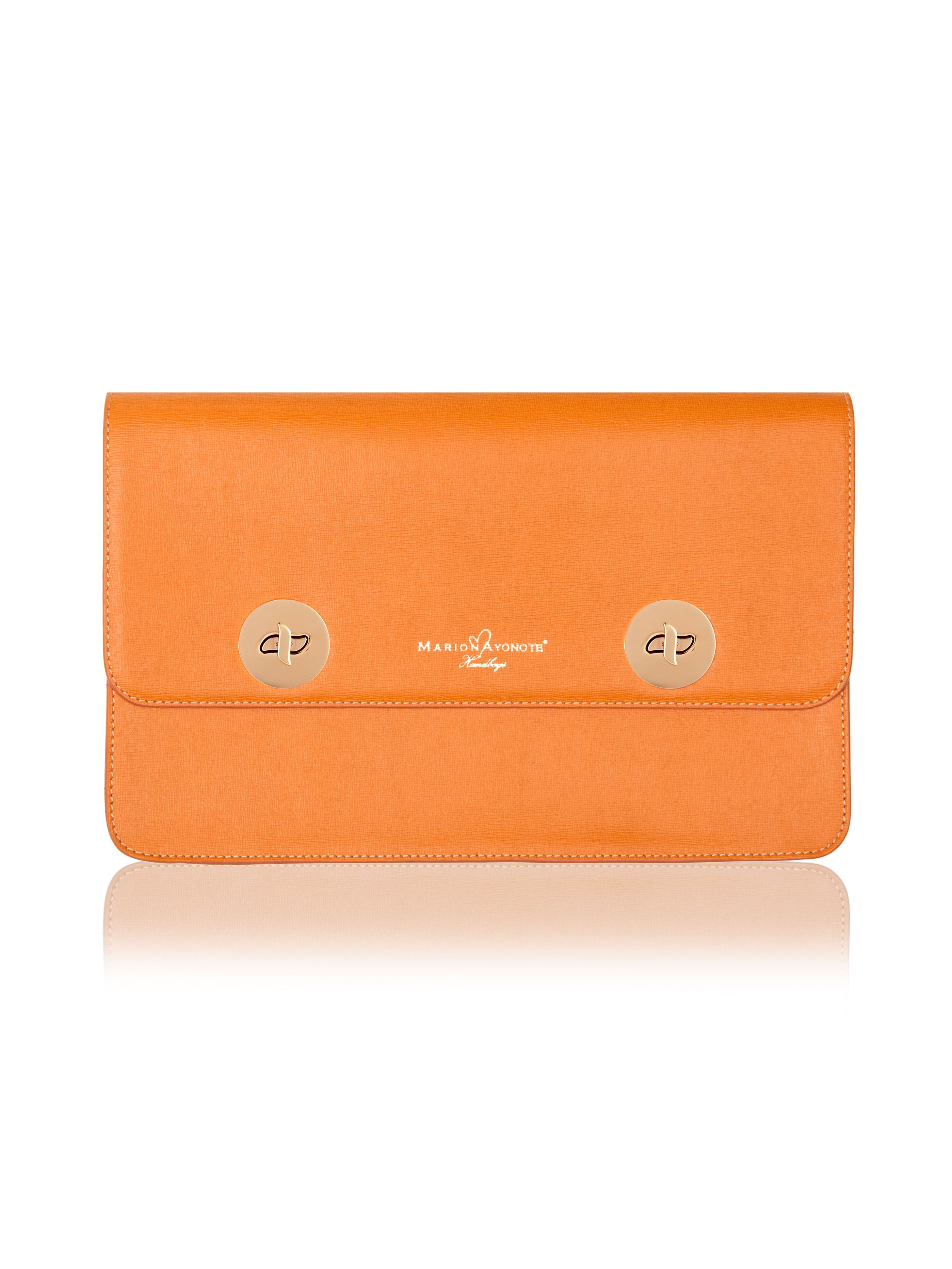 Marion Ayonote Marion Ayonote Issoria disc clutch, Yellow