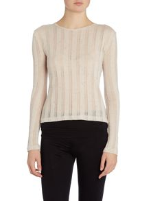 Pepper & Mayne Pepper and Mayne Bardot Layering Top