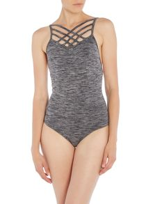 Pepper & Mayne Pepper and Mayne Criss Cross Leotard