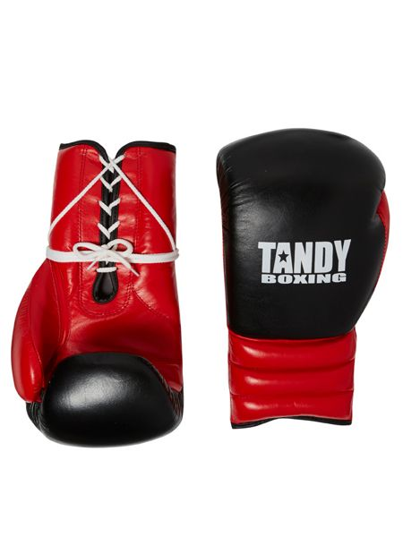 Tandy Boxing Laced Sparring/Training Gloves
