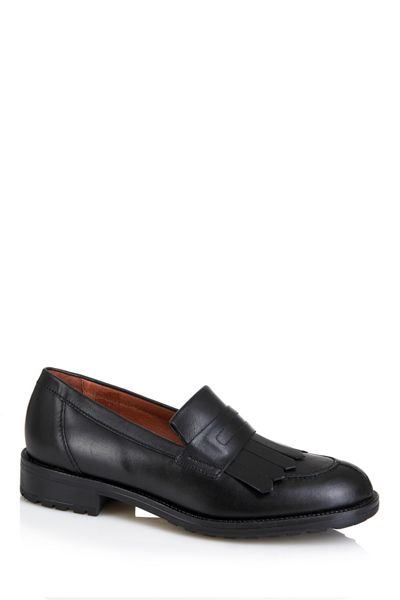 Cara London Fringed loafer