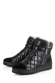 Cara London Quilted trainer