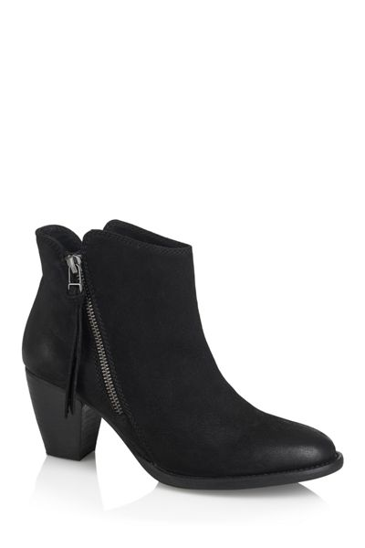 Cara Heeled ankle boot