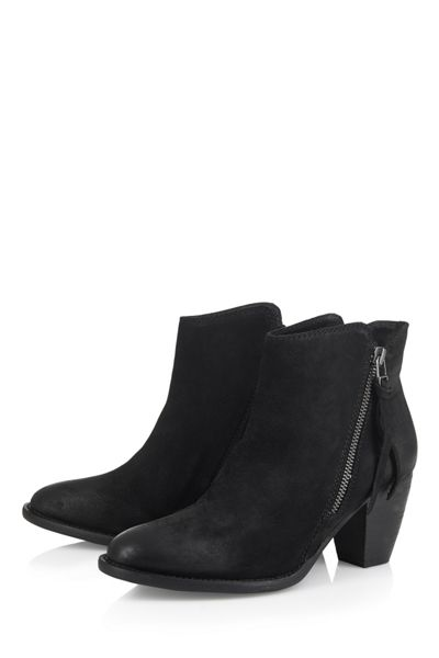 Cara London Heeled ankle boot