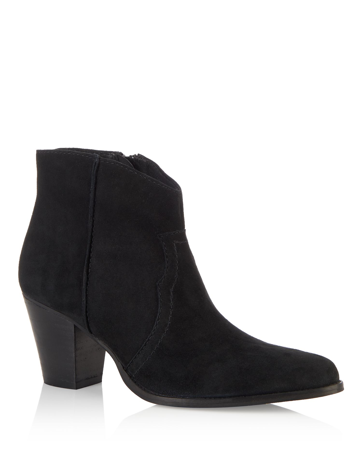 Cara Cara Elderberry ankle boot, Black Suede