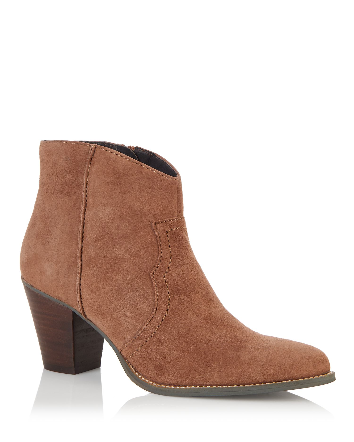 Cara Cara Elderberry ankle boot, Tan