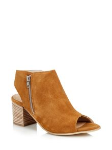 Cara London Pharo peeptoe ankle boot