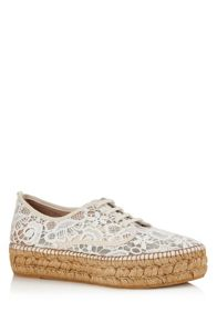 Cara London Randy platform espadrille