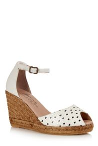 Cara London Susan wedge espadrille