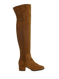 Silky long boot