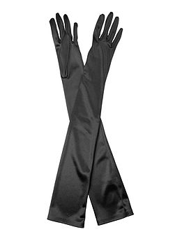 Hermione Duchess Satin Gloves