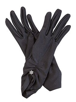 Nancy Satin Gloves