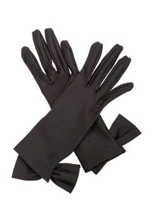 Cornelia James Viola Satin Gloves