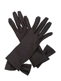 Viola Satin Gloves
