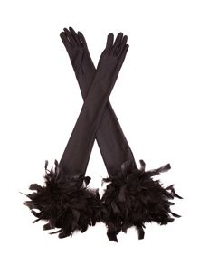 Cornelia James Ophelia Satin Gloves