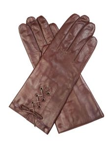 Cornelia James Paloma Leather Gloves
