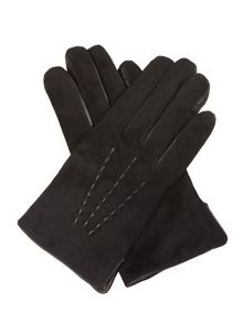 Cornelia James Eliza Suede and Cashmere Gloves