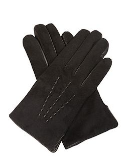 Eliza Suede and Cashmere Gloves