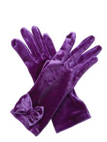 Cornelia James Charlie Velvet Gloves