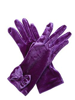 Charlie Velvet Gloves