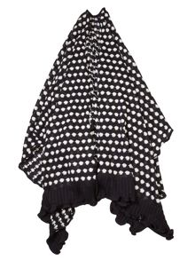 Cornelia James Petra Polka Dot Poncho