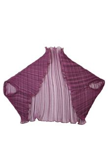 Cornelia James Mia Silk Pleat Shrug