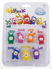 Oddbods Oddbods Mini Figure 7 Pack