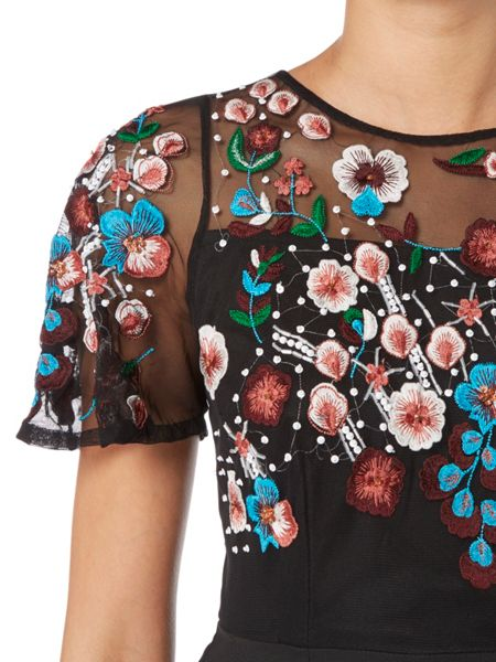 RAISHMA Autumn Floral Dress