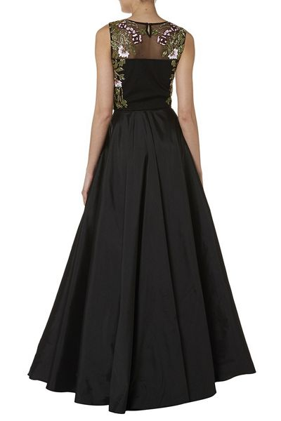RAISHMA Blush Taffeta Full Skirt