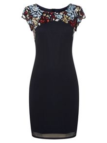 RAISHMA Evening Multicoloured Sequin Dress