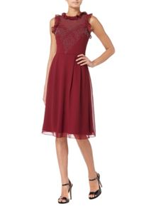 RAISHMA High Frill Skater Dress