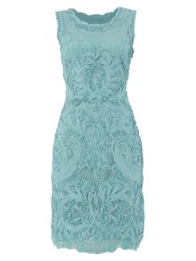 RAISHMA Floral lace dress