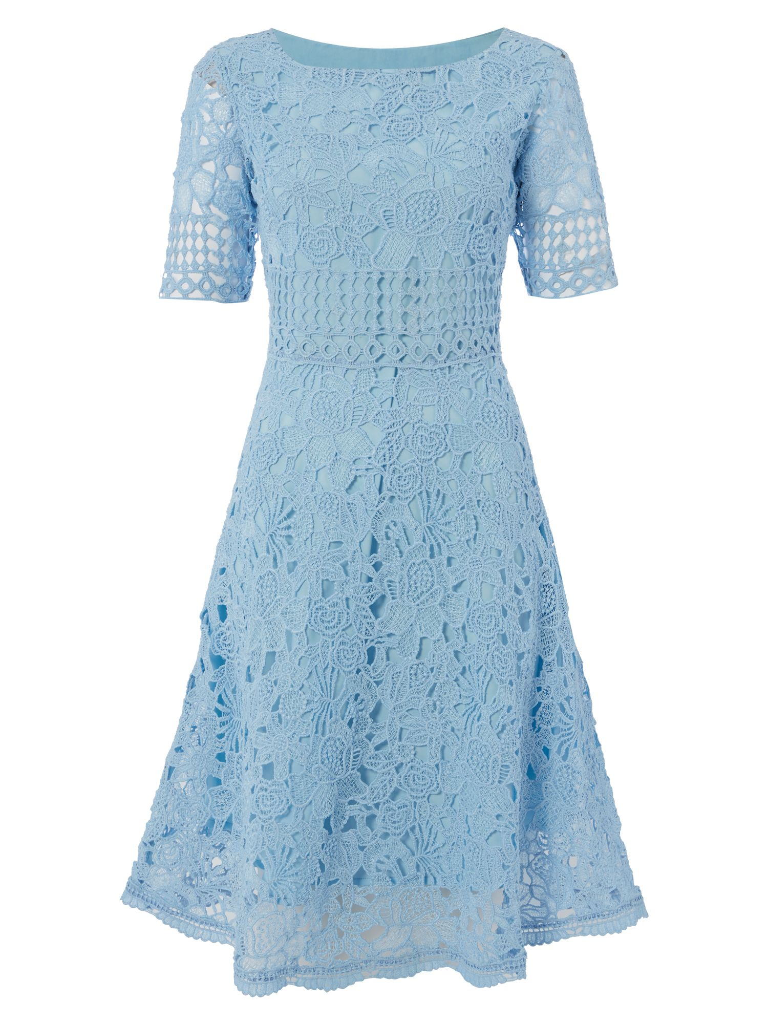 RAISHMA Lace Dress, Blue