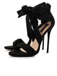 Lost Ink Ruri wrap  stiletto sandals