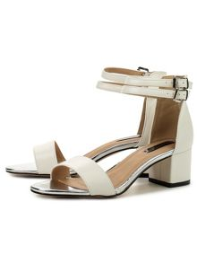 Lost Ink Rippa ankle strap sandals