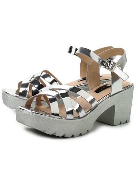 Lost Ink Nape ankle strap sandals