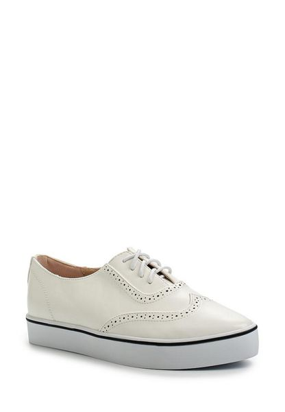 Lost Ink Sya brogue plimsolls