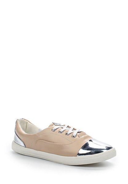 Lost Ink Surina lace up toe cap plimsolls