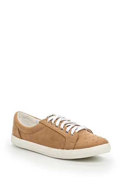 Lost Ink Sully pin stud plimsolls