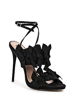 Dustin bow detail heeled sandals