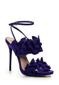 Lost Ink Dustin bow detail heeled sandals