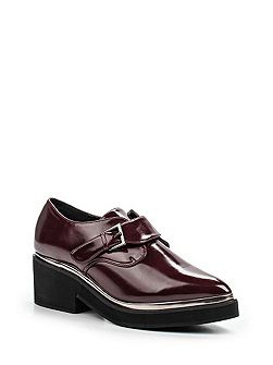 Jimbo monk strap flat shoes