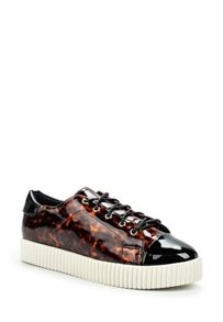 Lost Ink Trish toecap creeper plimsolls