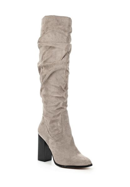 Lost Ink Gladis soft slouch knee-high boots