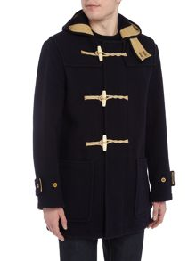 Gloverall Union Jack Monty Duffle Coat