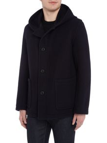 Gloverall Wool Smock Duffle Coat